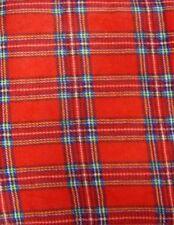 Couvertures rouge pour le lit 200 cm x 200 cm