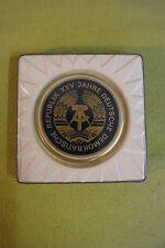 DDR Medaille - XXV. Jahre - Kobalt