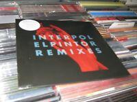 Interpol El Pintor Remixes - Clear Vinyl RSD 2016