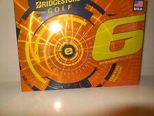 Bridgestone e6 Optic Yellow Golf Balls - 3 Dozen