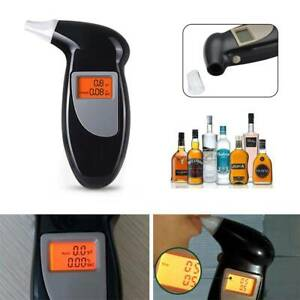 Hot Professional LCD Digital Breath-Alcohol Tester Breathalyser Police UK Seller