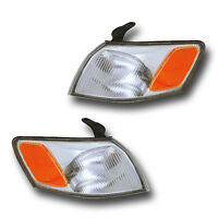 Fits 97-99 Toyota Camry Driver + Passenger Turn Signal Parking Light Lamp 1 Pair