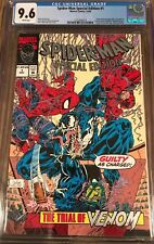 Spiderman Special Edition #1 CGC 9.6 NM+ The Trial of Venom 12/92 Marvel Comics