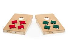 eine Mini-Variante von Cornhole Spiel Holz Baggie
