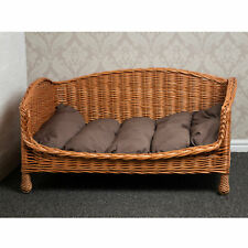Prestige Wicker Willow Pet Bed Settee - Large