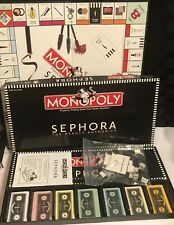 Monopoly Sephora Edition Board Game The Beauty Authority Makeup !Not Complete!