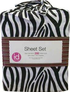 Zebra Stripes Animal Print Std Pillowcases (Pkg of 2)