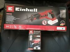 Einhell 18v Cordless All Purpose Reciprocating Saw with 5.2Ah Battery Brand New