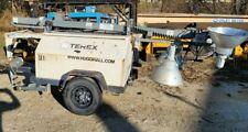 2009 Terex Rl4000 Portable Tower Light Withkubota Diesel Engine