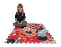 Minnie Mouse Tappeto Puzzle Gigante Gioco Bambini Pavimento cameretta,piscina