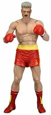 IVAN Drago Rosso Pantaloncini NECA ROCKY 40th ANNIVERSARIO Series 2 Action Figure