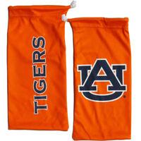 NCAA Auburn Tigers Microfiber Eyewear Storage Bag Glasses Cleaning Cloth