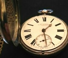 More details for silver pocket watch william gadsby of silver street, lincoln. 1885