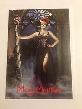 Gothic Themed Christmas Card #4 - NEW