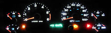 JEEP WRANGLER TJ 1997 - 2006  BRIGHT WHITE LED GAUGE & DASH LIGHT KIT