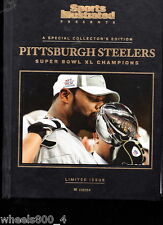 Sports Illustrated 2006 Pittsburgh Steelers Super Bowl XL Champs Hard Cover