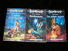 Lance Dragon 7 à 9 Trilogie des préludes