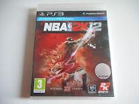JEU PLAYSTATION 3 / PS3 - NBA 2K12 ( AVEC NOTICE )