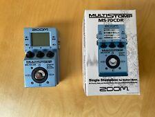 Zoom Multi Stomp MS-70 CDR Multieffektgerät für Gitarre