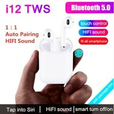 TWS Wireless Earphone Bluetooth Earphones Touch Control & 3D Stereo Earbuds Auto