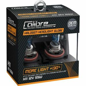 Calibre Headlight Bulb 12V H11 55W Plus 130