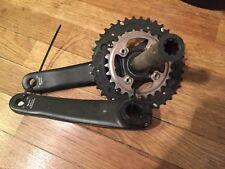 Shimano Deore XT MTB bicycle crankset FC-M780 Double Hollowtech 175mm