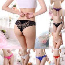 Women Lady Lingerie Bamboo Fiber Panties Underwear Lingerie Lace Briefs Knickers