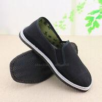 Kung Fu Martial Arts Tai Chi Shaolin  Men's shoes Casual Bruce Lee shoes slipper
