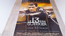 LE 13 ème GUERRIER  ! affiche cinema