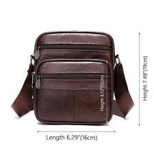 Genuine Leather Shoulder Bag Handbag Purse Cross Body Organizer Smart Phone Pock