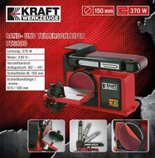 Kraft Werkzeuge Band- und Tellerschleifer BTS800 Schleifteller Schleifmaschine
