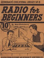 Gernsback Educational Library No. 8 - Radio for Beginners - Cd