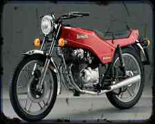 Benelli 250 Quattro 01 A4 Metal Sign Motorbike Vintage Aged
