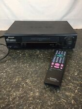 Sharp Vcr Vc- A585U HiFi 4 Head Stereo Video Cassette Recorder with Remote Wor