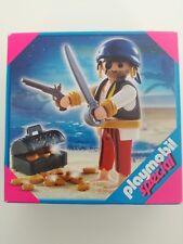 Playmobil 4662 - Pirate with chest / Pirat Einauge (MISB, NRFP, OVP)