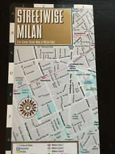 NEW! 2015 Streetwise Milan Italy Map Laminated City Center Street