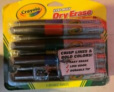 Crayola 988900 Dry Erase Marker Chisel Tip, Assorted Colors - 8 count
