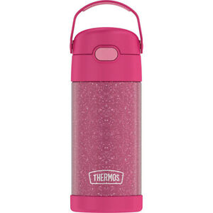 Thermos 12 oz. Kid's Glitter Funtainer Insulated Stainless Steel Water Bottle