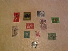 UNC RARE USA Occupied GERMANY 10P 1948 mint F COIN STAMP EAST & WEST GERMAN lot