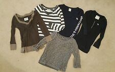 ABERCROMBIE KIDS Lot Large girls long sleeve tops