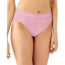 Bali Comfort Revolution 100% Nylon Tag Free Hi-Cut Pink Sands Brief Size 8/9