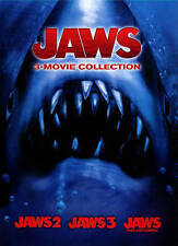 Brand New! Jaws 3-Movie Collection DVD (Jaws 2, 3 and The Revenge) Shark Horror