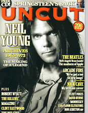 UNCUT MARCH 2009 NEIL YOUNG ARCHIVES '63-'72 THE BEATLES VS THE HELLS ANGELS