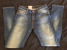 *Brand New* Nudie Jeans Skinny Lin Navy Mist 12oz Size W28 L30