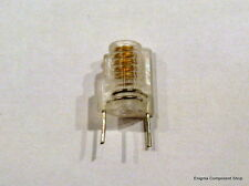 Miniature Moulded Variable Inductor. 1.5t, White,16-21nH. 'Mini S18' UK Seller.