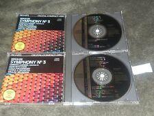 Mahler CD Symphony No. 3 / 2-discs / Vaclav Neumann / C. Ludwig / Pro-Arte Japan