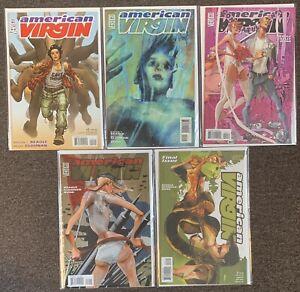 American Virgin #2,14,20,22,23 Vertigo 2006 Steven T Seagle Becky Cloonan Lot