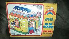 Ultra Rare Vintage 1983 Rainbow Brite Play House original box Playhouse tent