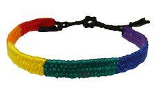 Gay Pride Bracelet Friendship Bracelet Rainbow Thin