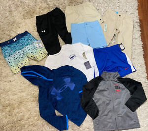 Boys 2T Lot Nike Under Armour Polo Crown & Ivy Many NWT 9 Total Pieces
